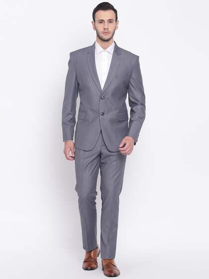 fa725cafc13e6 Suits for Men - Buy Men Suit & Blazer Online | Myntra