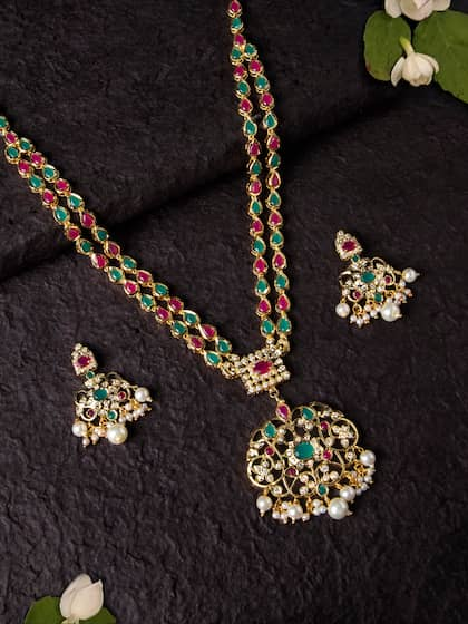 6d38f6f21d Artificial Jewellery Set - Buy Artificial Jewellery Set online in India
