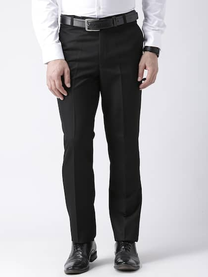 37e54116937 hangup trend. Men Regular Fit Formal Trousers