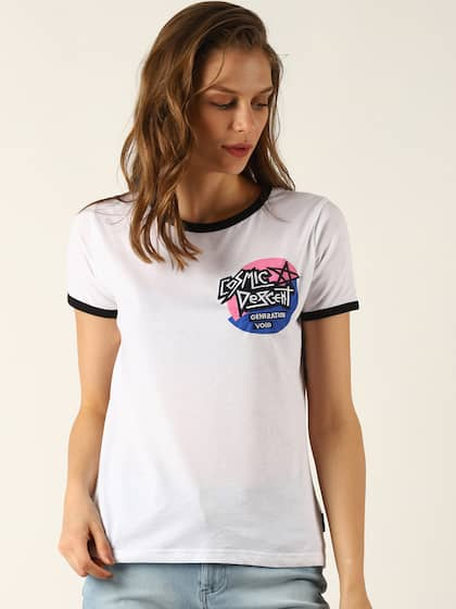 5661bd68 Loose Fit Tshirts - Buy Loose Fit Tshirts online in India