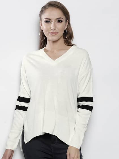 6513f85f59 Sweaters for Women - Buy Womens Sweaters Online - Myntra