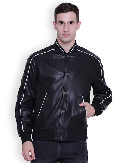884c364b7834 Leather Jackets - Buy Leather Jacket Online in India