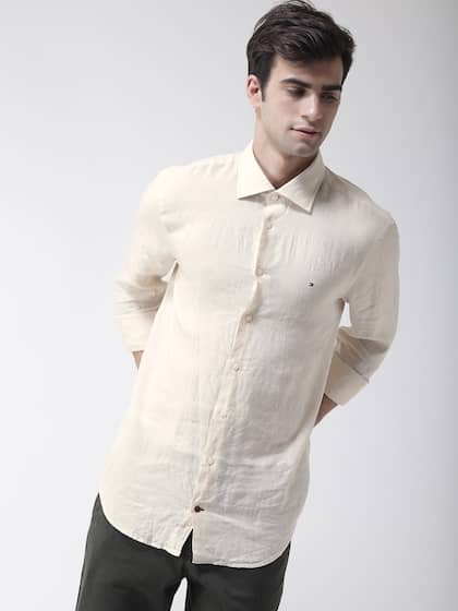 dcb7de21 Tommy Hilfiger Linen Shirts - Buy Tommy Hilfiger Linen Shirts online ...
