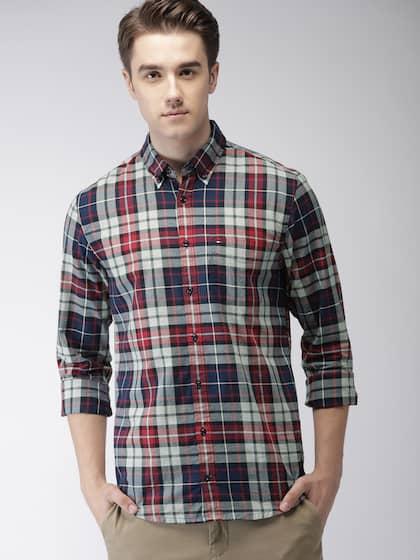 2ee6d0df3 Tommy Hilfiger Shirts - Buy Tommy Hilfiger Shirt Online   Myntra