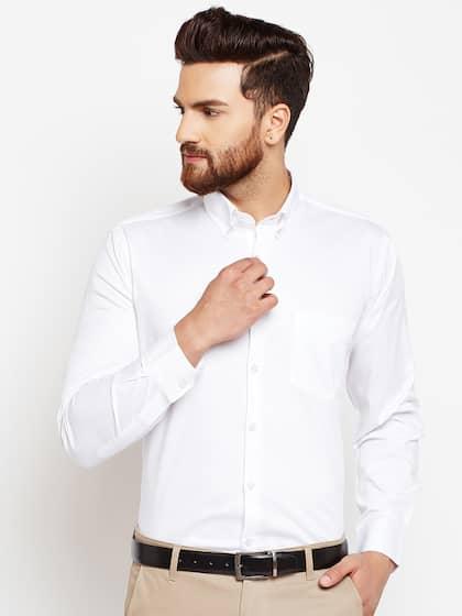 aa76591436 Formal Shirts for Men - Buy Men's Formal Shirts Online | Myntra