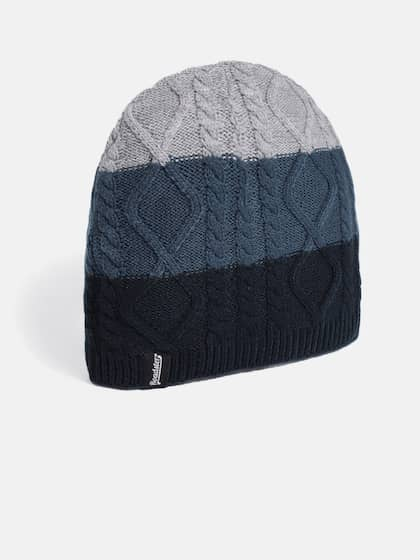 d26a00b14b0 ... coupon code for roadster unisex navy blue grey solid beanie 2a2c9 e9535