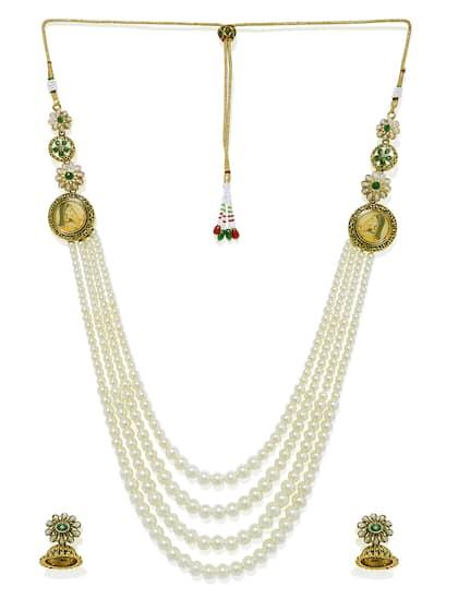 aab7992f0 Zaveri Pearls Jewellery Set - Buy Zaveri Pearls Jewellery Set online ...