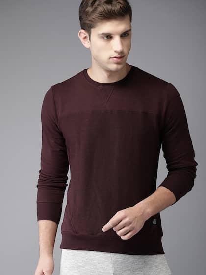 00b36e320f0 Sweatshirts For Men - Buy Mens Sweatshirts Online India
