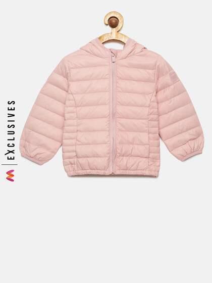 455db74edf1c Pink Girls Jackets - Buy Pink Girls Jackets online in India
