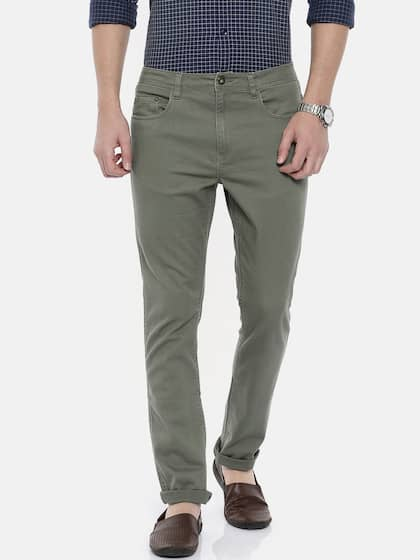 Men Casual Trousers Buy Casual Pants For Men In India Myntra