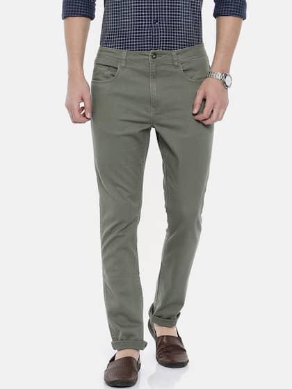 17f94b3ccd64b1 Men's Pants - Buy Pants for Men Online in India