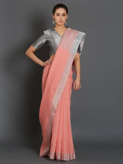 516ea818740ed Satin Sarees - Appealing Satin Sarees Collection Online in India ...