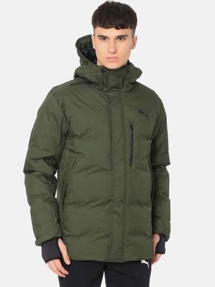 f6b787fe8 Puma Olive Jackets - Buy Puma Olive Jackets online in India