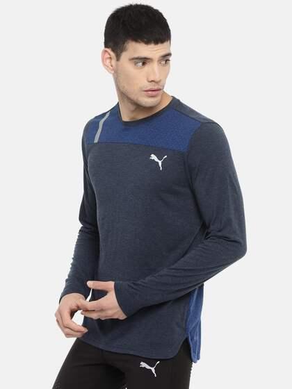 ab0396c2430 Puma Long Sleeve Tshirts - Buy Puma Long Sleeve Tshirts online in India