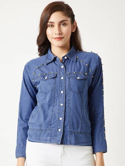 85c59835f7 Denim Jacket - Buy Denim Jacket Online - Myntra