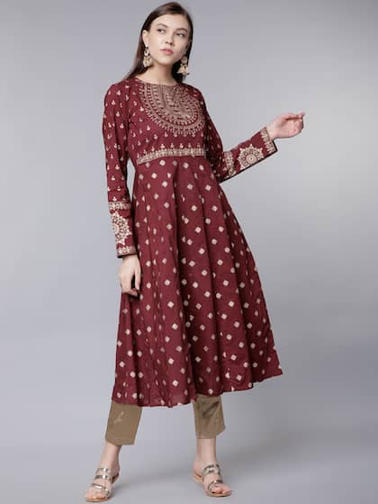 84393679906 Cotton Kurtas - Buy Cotton Kurta Online in India | Myntra