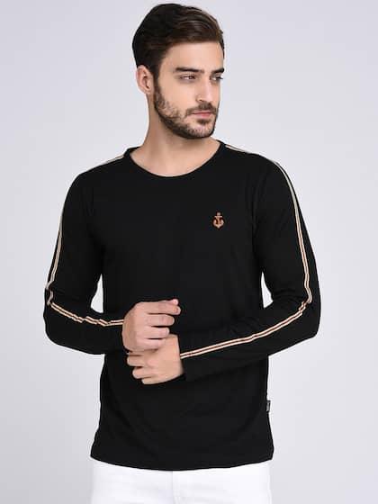 Rigo. Solid Round Neck T-shirt e1cf67c5ed4d