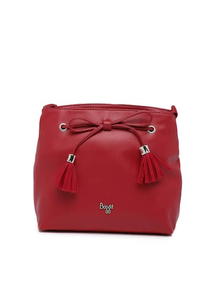 Baggit Red Solid Sling Bag