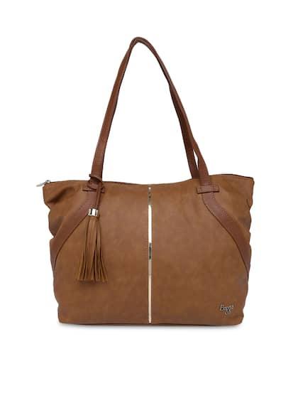 Baggit Brown Solid Shoulder Bag