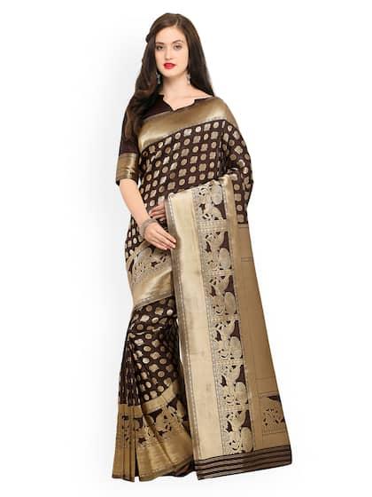 214f578eab Saree - Buy Sarees Online in India - Sari Shopping Online   Myntra