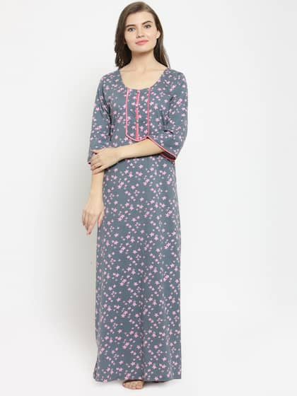 Cotton Nightdresses - Buy Cotton Nightdresses Online in India  3263472ec