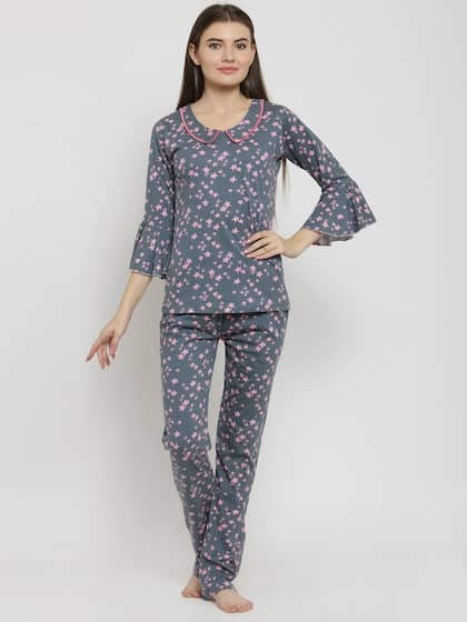 33aece1a2d Night Suits - Buy Night Suits for Men & Women Online - Myntra
