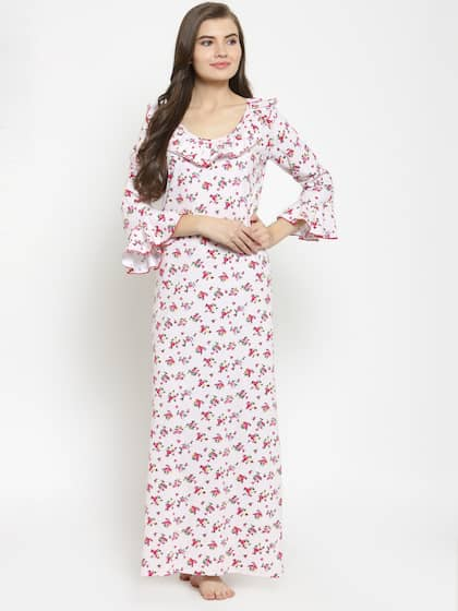 a456b7e0520 Cotton Nightdresses - Buy Cotton Nightdresses Online in India