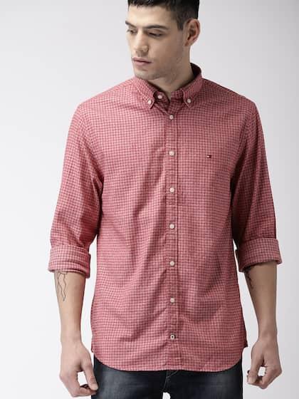 5e1a7e1c Tommy Hilfiger Shirts - Buy Tommy Hilfiger Shirt Online   Myntra