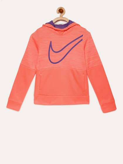 1a358e4e9866 Nike. Girls Solid Sweatshirt