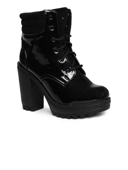 Womens Boots Buy Boots For Women Online In India Myntra