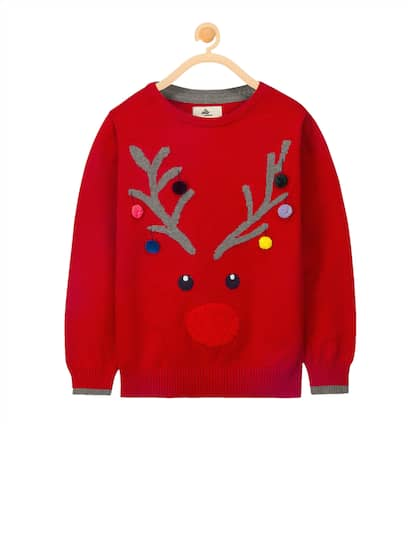 Girl s Sweaters - Buy Sweaters for Girls Online in India  880451d9f