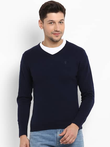 1d80f6d710a Sweaters for Men - Buy Mens Sweaters, Woollen Sweaters Online - Myntra