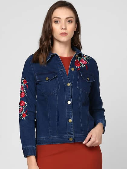 cbde70ae965 Women Denim Jacket - Buy Women Denim Jacket online in India