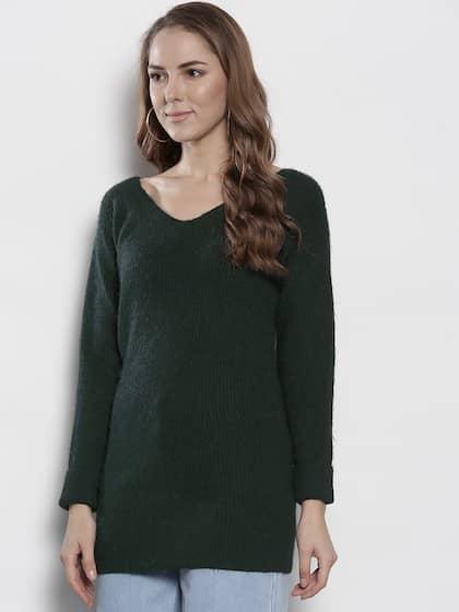 6513f85f59 Sweaters for Women - Buy Womens Sweaters Online - Myntra