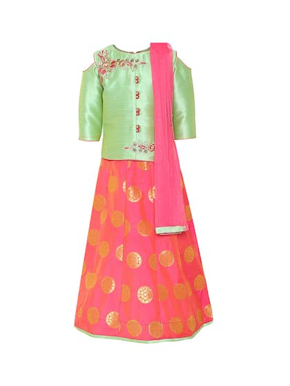 Girls Ethnic Wear - Buy Ethnic Wear for Girls Online  6d10aac72