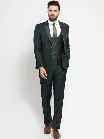 3de4a44a61f2 Suits for Men - Buy Men Suit & Blazer Online | Myntra