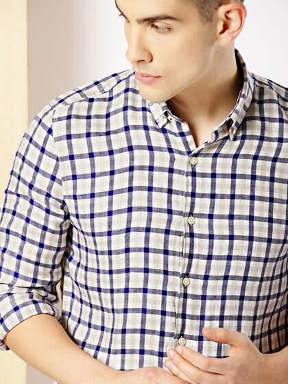 5ac7515319 Linen Shirt - Buy Linen Shirts for Men Online in India | Myntra