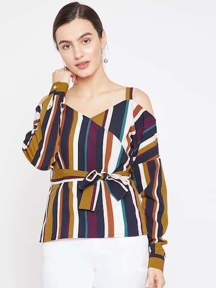2aadf3732f84 Cold Shoulder Tops - Buy Cold Shoulder Tops for Women Online - Myntra