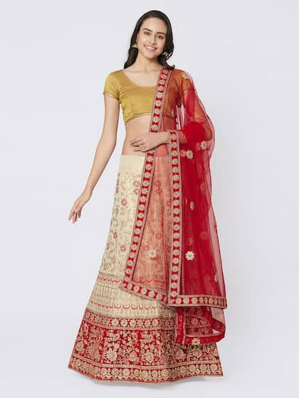49961106cf Silk Lehenga - Shop for Silk Lehenga Choli Online