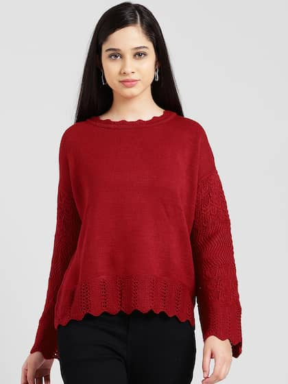 35478d23a0 Wool Sweaters - Buy Woollen Sweaters Online in India | Myntra