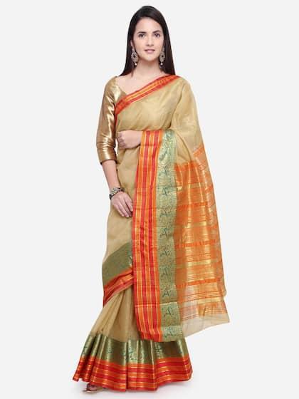 5e3ebc1870777c Triveni Sarees - Buy Triveni Saree Online in India