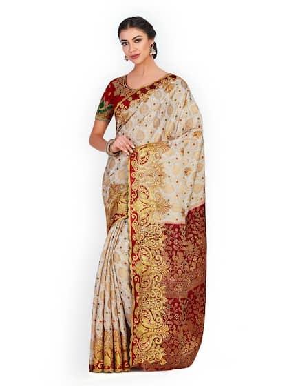 3a08c69f7 White Saree - Buy Designer White Sarees Online
