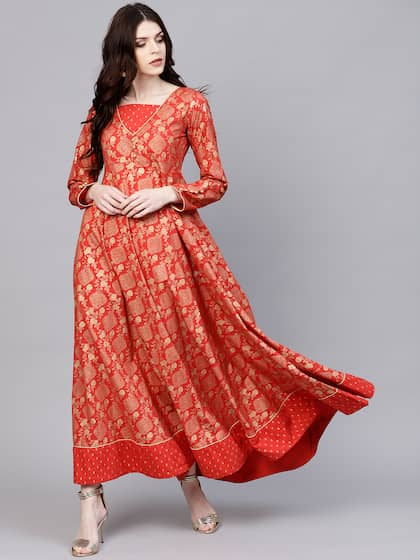 7baf9570b8a3 Long Sleeve Gowns - Buy Full Sleeve Gown Online in India