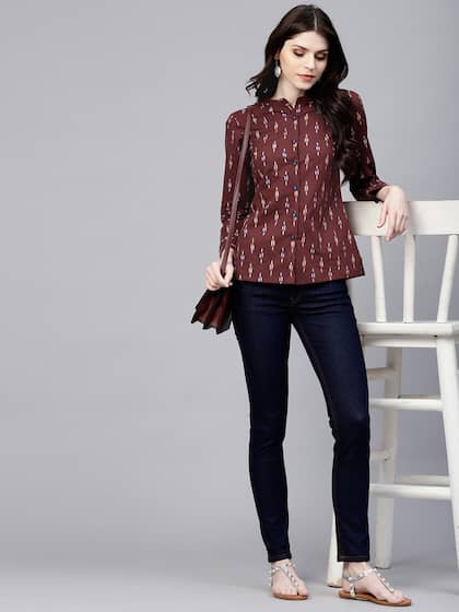 5829311d7 Ladies Tops - Buy Tops & T-shirts for Women Online | Myntra
