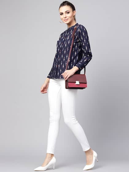 73172871ca3ad2 Women Shirts - Buy Shirts for Women Online in India