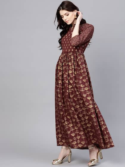 519ab20e5b Long Dresses - Buy Maxi Dresses for Women Online in India - Upto 70% OFF