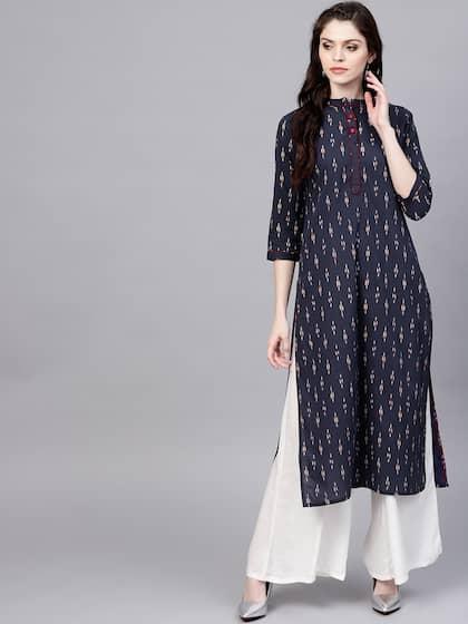 955d62b165 Ikat Kurtas - Buy Ikat Kurtas online in India