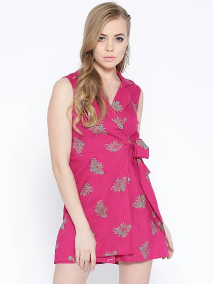 18f7c285a61e Pink Jumpsuit - Buy Pink Jumpsuit online in India