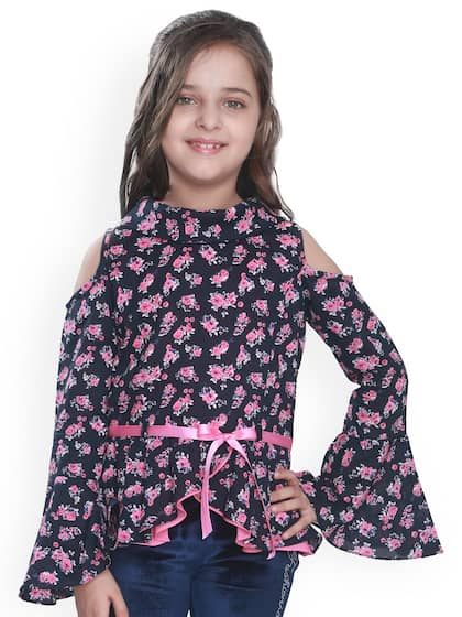 12fedeef5a Girls Tops - Buy Stylish Top for Girls Online in India   Myntra