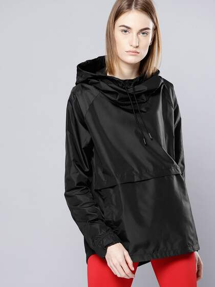 UNDER ARMOUR Women Black Storm Iridescent Woven PO Rain Jacket 23086fc136
